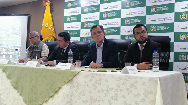 En el evento participaron autoridades nacionales y locales.